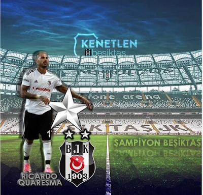 79aaedcc774a4 Besiktas ganhou ao Gaziantepspor por 4-0 e sagrou-se campeão da Turquia.! Quaresma não foi convocado.