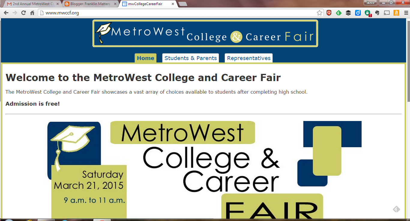 2nd Annual MetroWest College & Career Fair - Mar 22