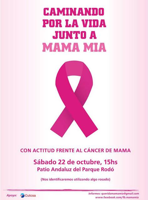 Caminando por la vida junto a Mama mía (Parque Rodó, Montevideo, 22/oct/2016)