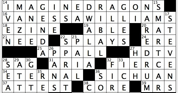 Rex Parker Does the NYT Crossword Puzzle: Distillery