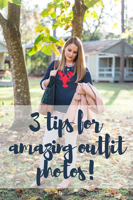 Three Tips for Amazing Blog Outfit Photos!