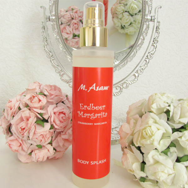 M. Asam Erdbeer Margarita Body Splash Review. Strawberry Margarita