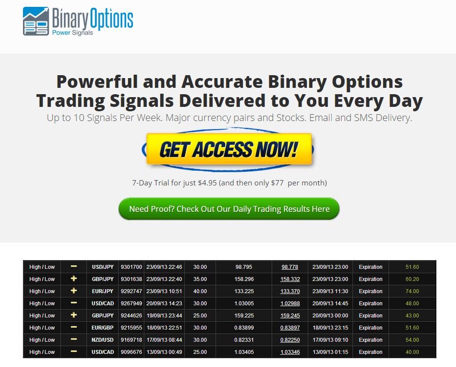 Binary option robot optionweb