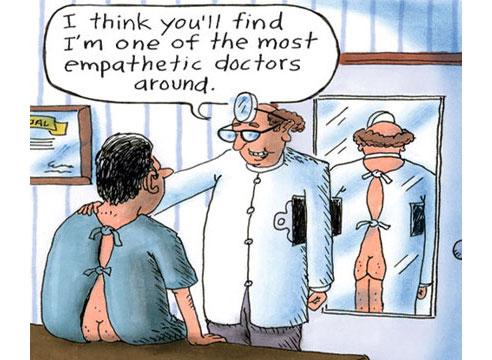 humor in the doctor patient relationship