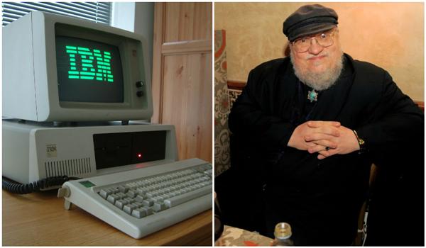 O escritor George R. R. Martin revelou utilizar o sistema operacional dos anos 1980 para escrever Game of Thrones