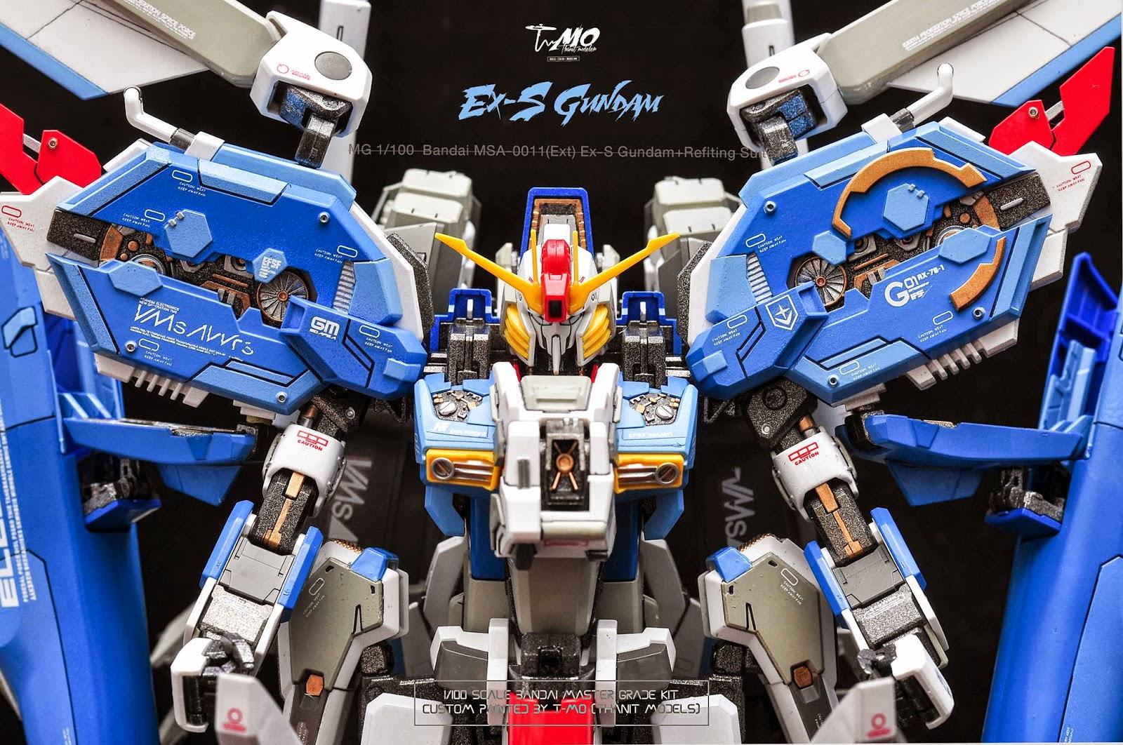 Custom Build: MG 1/100 Ex-S Gundam + Refitting Suit