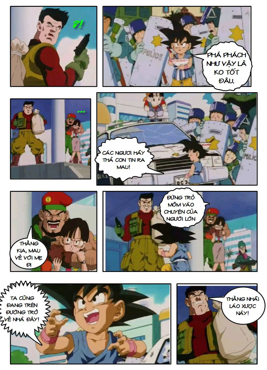 Dragon Ball GT chap 3 - Trang 9
