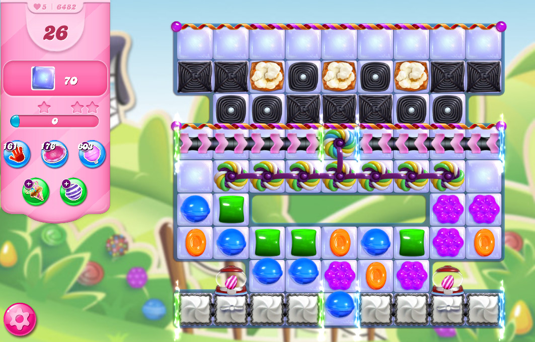 Candy Crush Saga level 6482