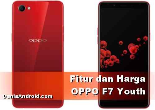 Harga dan fitur HP OPPO F7 Youth terbaru 2020