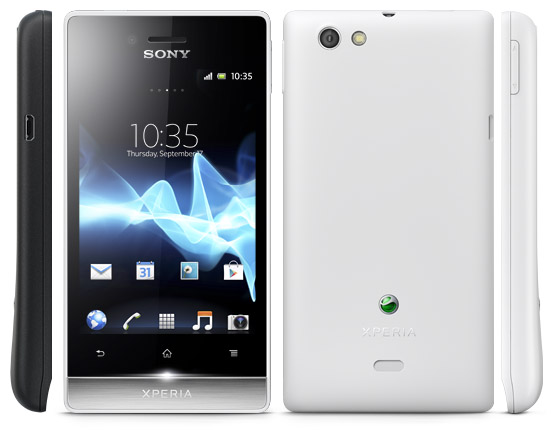 The Best Mobiles @ The Best Price: Sony Xperia Miro White ...