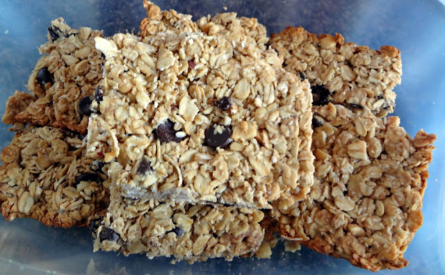 Simple Peanut Butter Granola Bars