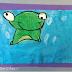 Frog Art Making