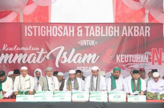 Ulama dan Umat Islam Adalah Garda Terdepan Penjaga Pancasila dan NKRI