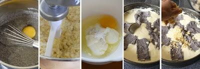 Zubereitung Mohn-Smetana-Streuselkuchen (Mohn-Schmand-Streuselkuchen)
