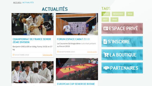 La Couronne Grand-Angoulême Judo