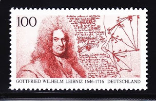 Gottfried Wilhelm Leibniz, German mathematician and philosopher 1996
