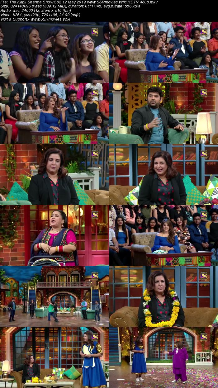 The Kapil Sharma Show S02 12 May 2019 Full Show Download HDTV HDRip 480p