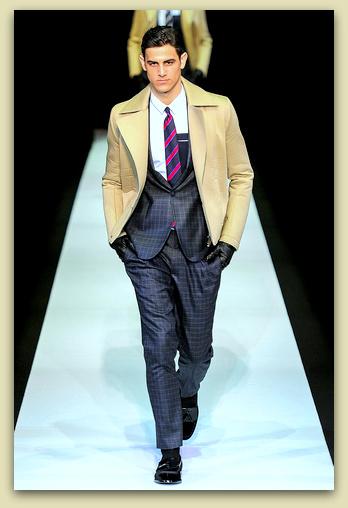 10e981660 Modas y Modelos  Emporio Armani - Ropa para Hombre - Otoño Invierno ...