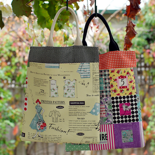 Pretty Little Totes - bags.  Tutorial available.