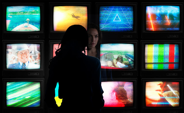 """WONDER WOMAN 1984"" is underway"