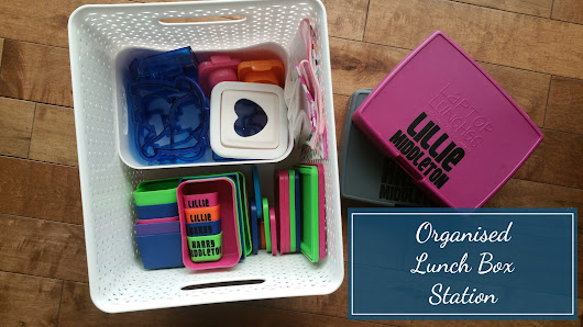 An Organised Lunch Box Station