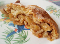 pastel de manzana tipo strudel)