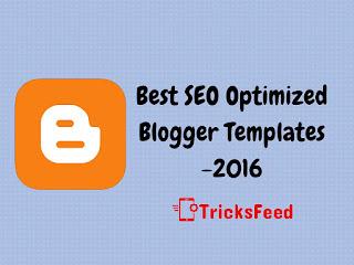 Best SEO Optimized TechBlogger Templates - 2016