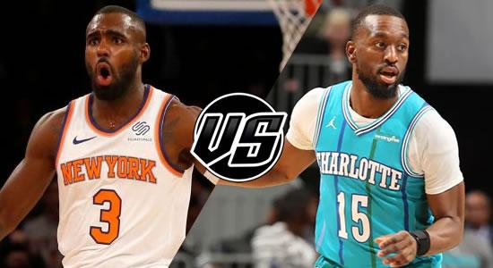 Live Streaming List: New York Knicks vs Charlotte Hornets 2018-2019 NBA Season