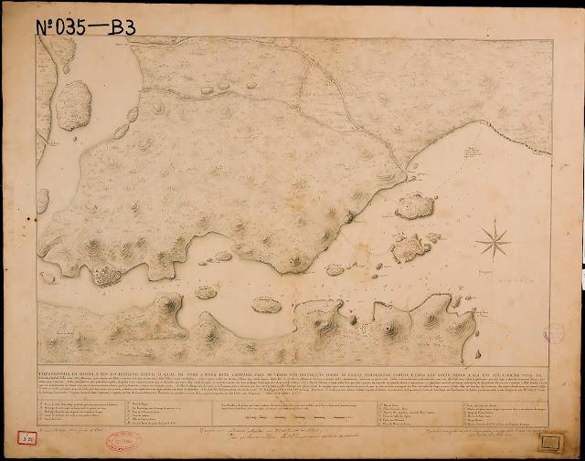 Topografia da Barra e rio do Espírito Santo o qual dá nome a toda esta Capitania. Bahia, 10/10//1767.