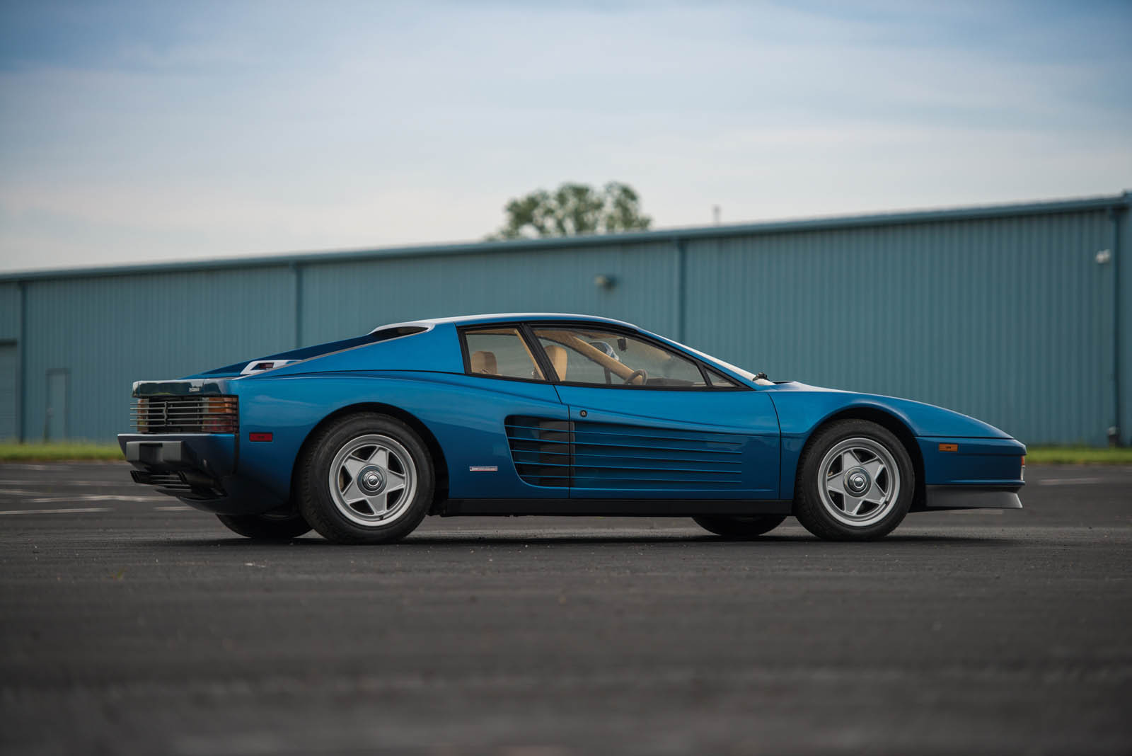 Miami Vice Director S Ferrari Testarossa Looks More