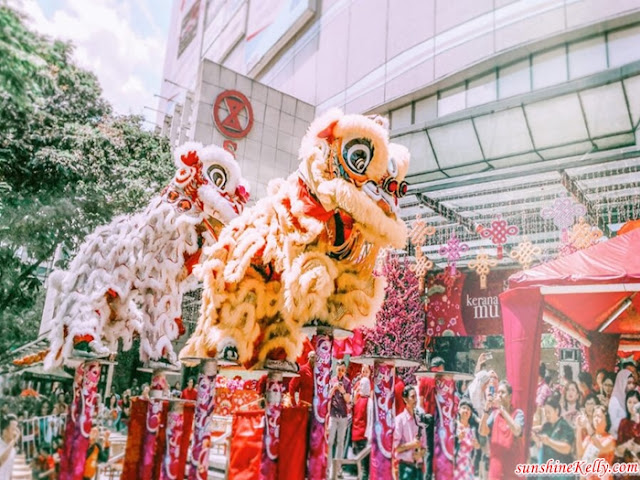 Chor 10, CNY 2019, Lifestyle, Lion Dance, lou sang, Sogo Malaysia, sogo, shopping mall