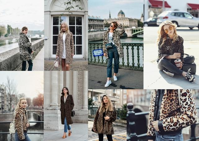 jassen trend leopard faux fur luipaard panter print jas winter herfst 2017 2018 blogger shop