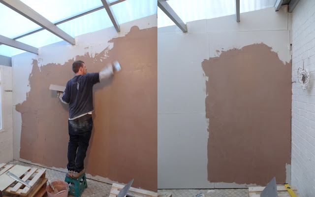 learning to plaster