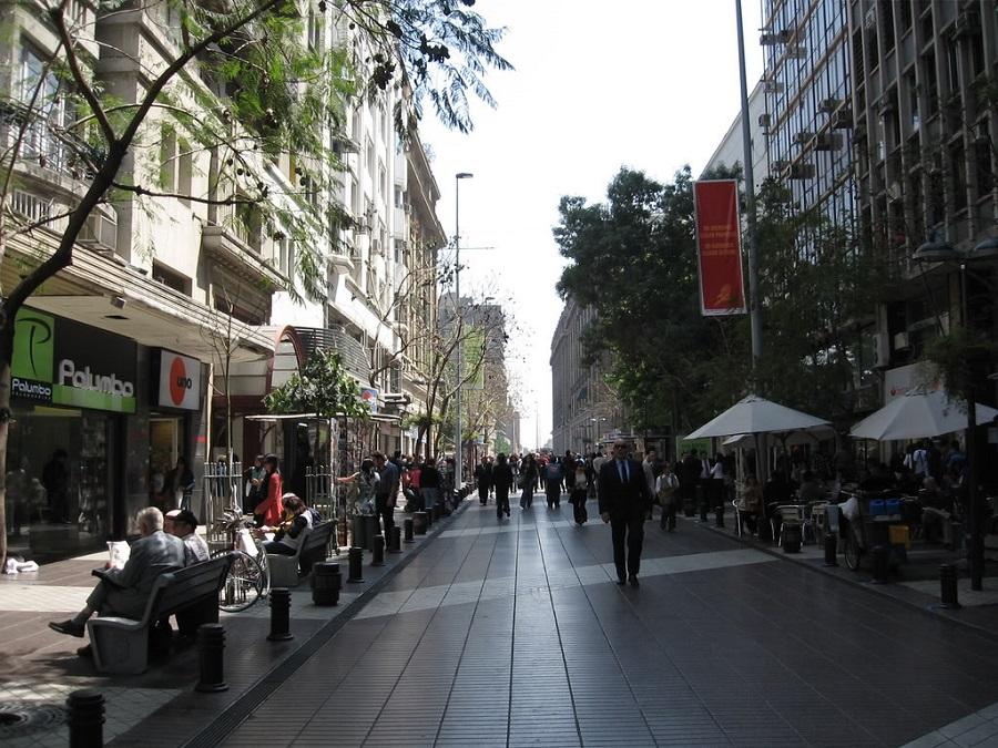 441deda4b4702 Paseo Ahumada em Santiago do Chile   Dicas do Chile
