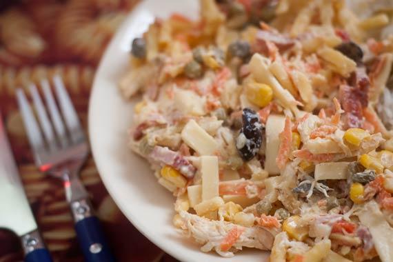 Salpicão (maionese) tradicional de festa