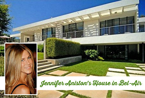 Jenniffer Aniston's Sleek House in BelAir