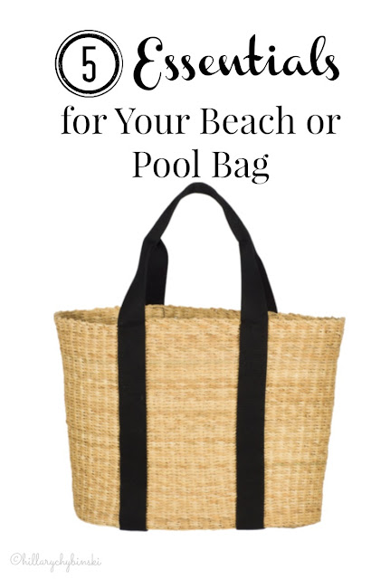 5 Essentials for Your Beach or Pool Bag