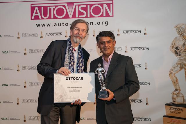 ISUZU's iV League campaign gets international acclaim at AutoVision 2017; wins 'Ottocar - Silver Award'