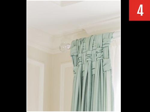 Basket-weave your drapes
