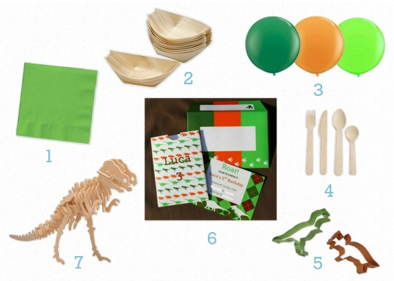 Dinosaur Party Ideas Inspiration printable invitation invite decorations