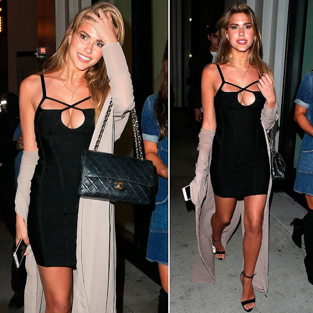 Kara Del Toro - at Craig's Restaurant in West Hollywood