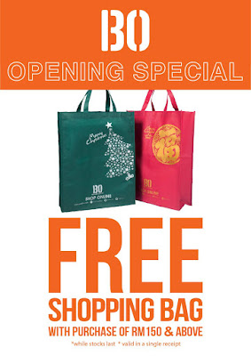 Brands Outlet Free Shopping Bag Opening Special Promo