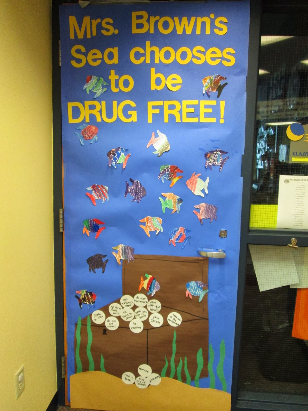 Adventures in Third Grade: Red Ribbon Week - Ocean Door ...