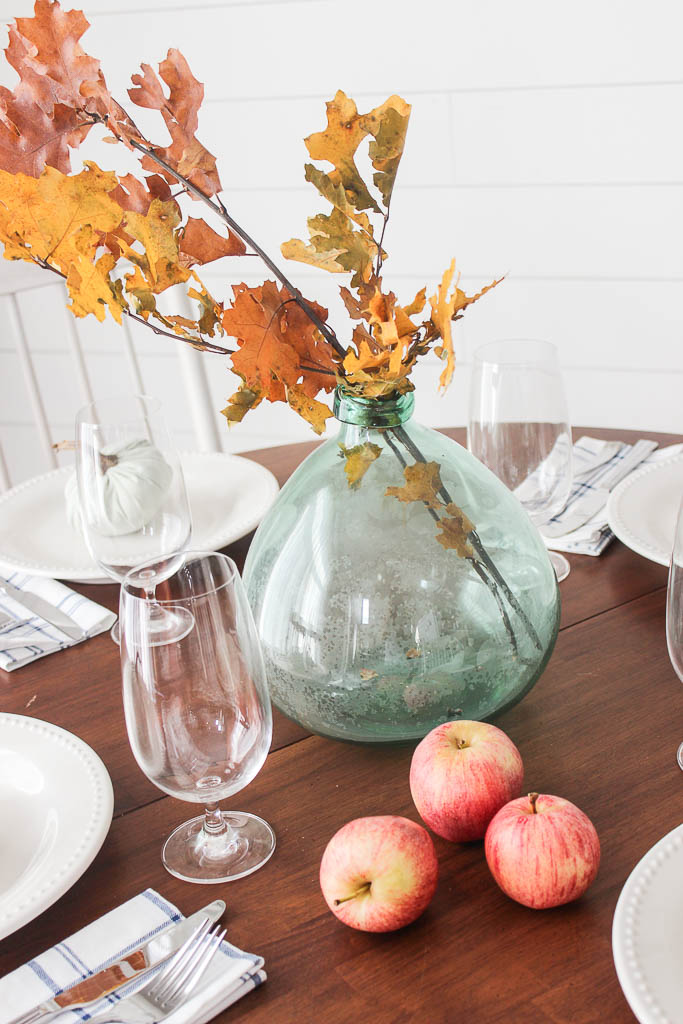 decorating with apples for fall