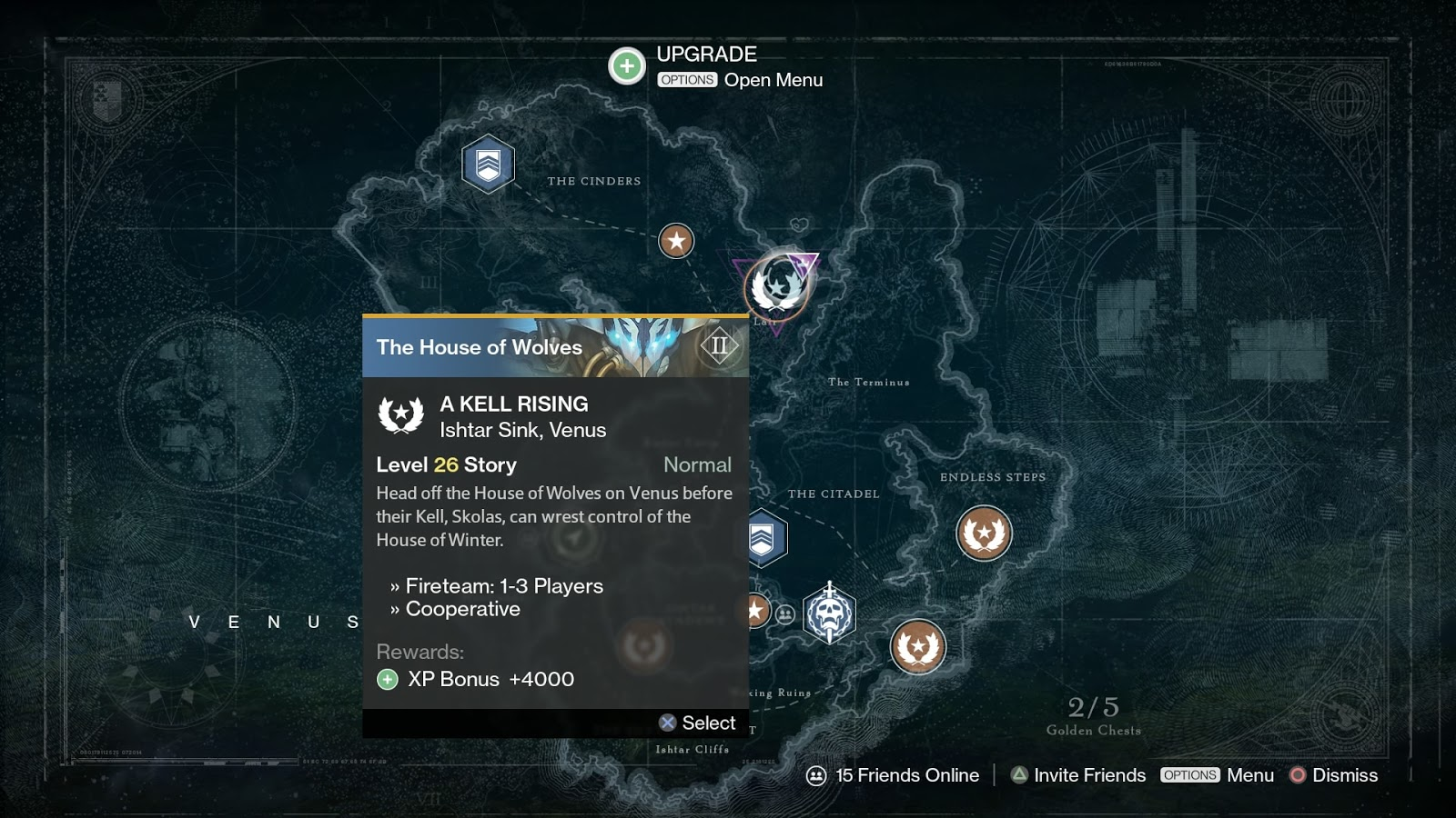 Destiny House Of Wolves Mission List Average Casual Gamer
