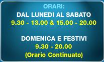 Calendario Oasi Park Roma