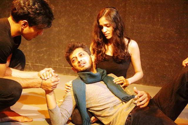 The drama 'The Taming of the Shrew' on Shakespeare's play in Mumbai