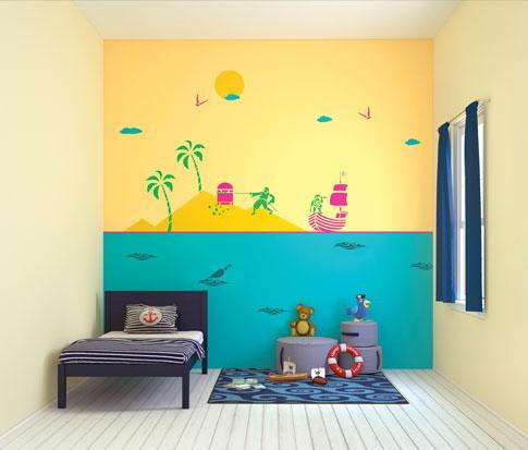 الوان حوائط غرف اطفال | ديكور بلس