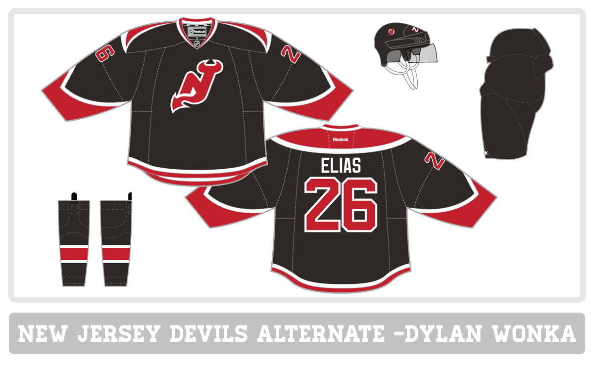 new product 7fb16 0aad3 new jersey devils jersey concept