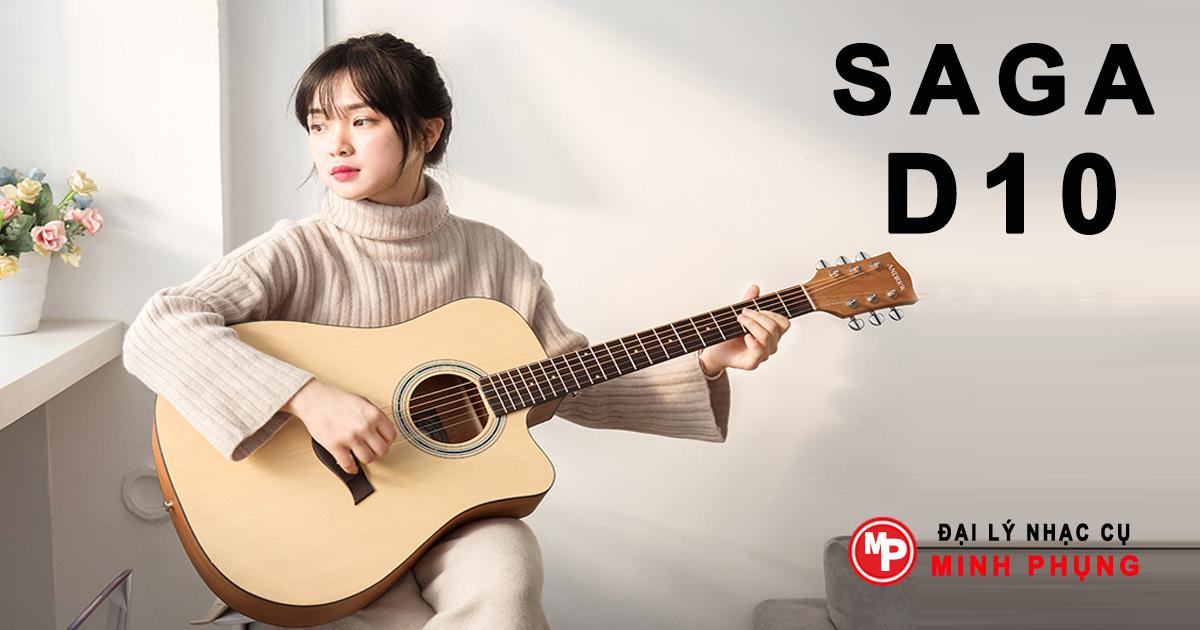 Đàn guitar Saga D10
